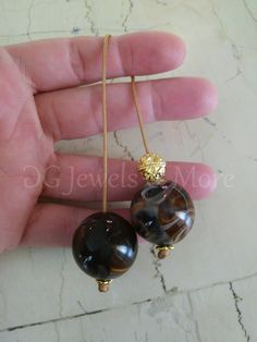 Greek Begleri mini komboloi smoky brown 20mm bead brown cord quit smoking