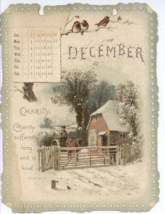 CHRISTIAN GRACES CALENDAR FOR 1894