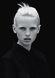 [now & also] anja konstantinova is (now & also) w/ img models paris | photo: bec parsons