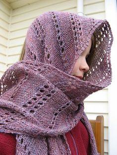 Free Pattern: Simple Yarn-Over Shawl by Mary Joy Gumayagay