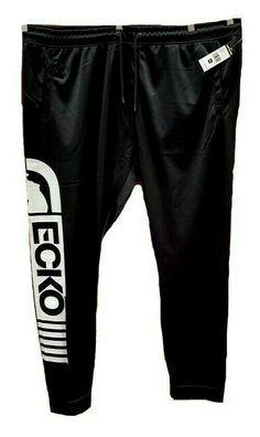 e0cdf36c21e40b Ecko Men s Function Black Jogger Track Pants Big and Tall B T 4XL NEW   EckoUnltd
