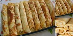 CREPES SIN HARINA: recetita súper fácil, rápida y deliciosa!   Receitas Soberanas Portuguese Recipes, Crepes, Sin Gluten, Flan, No Bake Desserts, Hot Dog Buns, Nutella, Sandwiches, Food And Drink