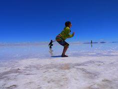 Uyuni, Bolivia 天空の鏡、ウユニ塩湖。~ボリビア~