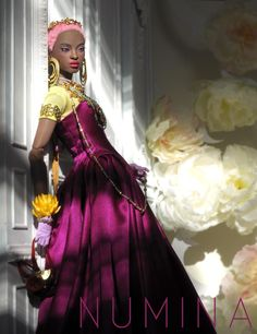Barbie Fashion Royalty, Fashion Dolls, Fashion Show, Afro, Original Barbie Doll, Beautiful Black Babies, Pelo Natural, African American Dolls, Beautiful Barbie Dolls