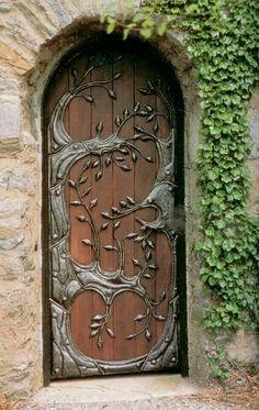 Antiga porta.