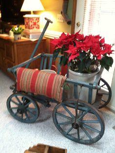 Old goat wagon