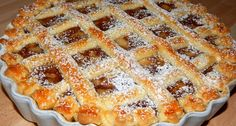Hungarian Desserts, Hungarian Cuisine, Hungarian Recipes, Pie Recipes, Cookie Recipes, Fun Desserts, Dessert Recipes, Torte Cake, Homemade Sweets