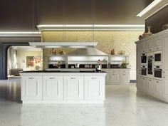 Klassische Küche / Holz / Kochinsel / lackiert - GIOCONDA by Iosa Ghini - SNAIDERO