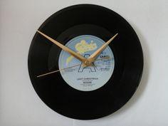 "Wham- last Christmas     7""  vinyl record clock  £6.99"