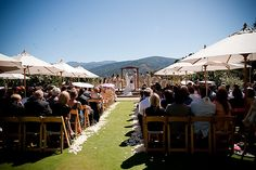 Holman Ranch overlooking Carmel Valley is a great wedding venue for the ceremony and the reception