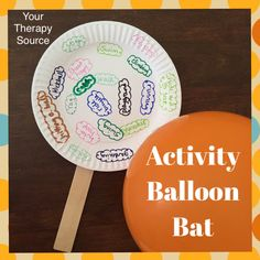 Fine and Gross Motor Group Activity Idea - Activity Balloon Bat - Your Therapy Source Motor Skills Activities, Gross Motor Skills, Group Activities, Sensory Activities, Therapy Activities, Physical Activities, Therapy Ideas, Therapy Quotes, Sensory Diet