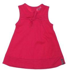 ZieZoo baby jurkje mouwloos fuchsia