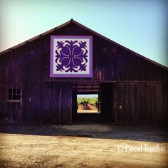 Check out this Hawaiian Pineapple - one of my favs on the Lake County Quilt Trail in CA.
