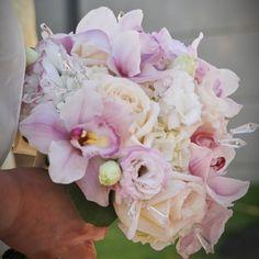 Blush orchid wedding bouquets - The Wedding Specialists Orchid Bouquet Wedding, Wedding Table Flowers, Bride Bouquets, Bridesmaid Bouquet, Floral Wedding, Cinderella Wedding, Wedding Bride, Dream Wedding, Wedding Bells