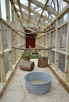 Walk in chicken coop 9 #DIYchickencoopplans