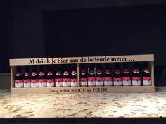 Meter bier peter vragen te bestellen via http://www.decadeaushop.be/bier-meter