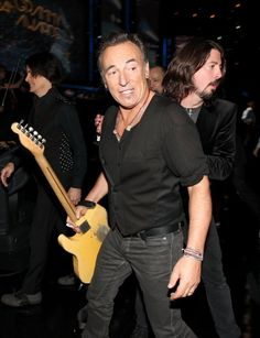 David Grohl and Bruce Springsteen