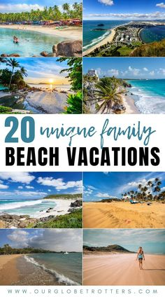 Incredible and remote beach locations around the world perfect for families who like to get off the beaten path | Our Globetrotters Family Travel Blog Family Vacation Destinations, Travel Destinations, Family Beach Vacations, Vacation Ideas, Destin Beach, Beach Trip, Beach Travel, Travel Blog, Travel Usa