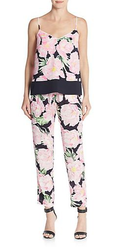 French Connection   Floral-Print Camisole   SAKS OFF
