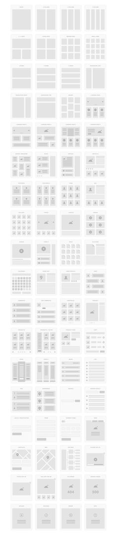 Free Download : UI Tiles – Website Flowcharts