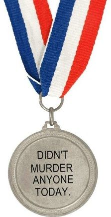 Today's goal: Win this medal.