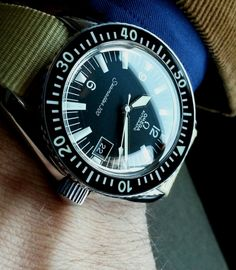 Vintage OMEGA Seamaster 300 Diver In Stainless Steel Circa 1960s - http://omegaforums.net