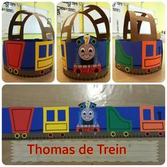 Feestmuts Thomas de Trein Hero Crafts, Happy Birthday, Birthday Parties, Arts And Crafts, Paper Crafts, Crazy Hair, Spring Day, Wearable Art, Origami