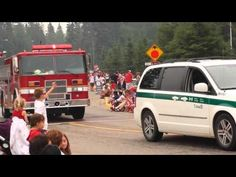 Waskesiu Fire Department Engine 171 Canada day Par