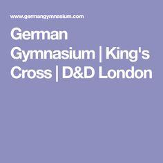 German Gymnasium | King's Cross | D&D London