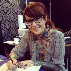 Lady addicted to tattoos. #tattoo #tattoos #Ink