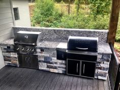 OUTDOOR KITCHEN In Salem, Oregon October 2016 Traeger Pellet Grill U0026  Kitchen Aid Grill With