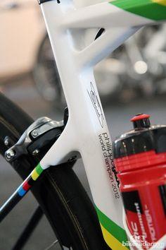 Philippe Gilbert's BMC TeamMachine SLR01 2013