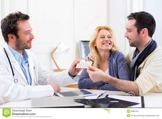 doctor-gives-pills-to-couple-patient-view-50887621.jpg 1,300×957 pixels