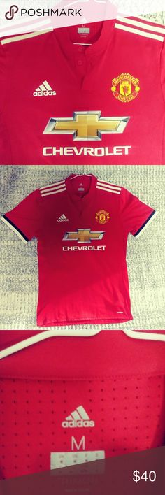 16fbaa3ac ⚽Adidas Manchester United clima cool jersey⚽ Excellent condition Like new  Size Medium adidas Shirts