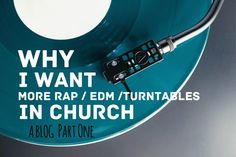 "Right now at LifeLetter Cafe ... ""When churches try to communicate God's story through mediocre art, our attempts often backfire .. @PeterHaas1  Read & refresh-forward Peter and ""Why I Want More Rap, EDM, & Turntables in Church"" here .."