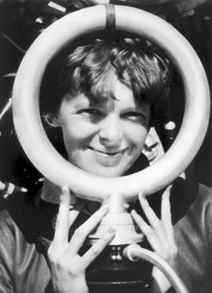 Amelia Earhart was the first woman to enter the Bendix Air Race taking fifth place in 1935.