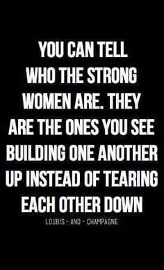 This ALWAYS shows no matter what you're wearing and what shape you are. Are you a great builder OR are you a talk behind her back tear down type? Being silent face to face but ripping her down behind her back, shows through no matter what......cowardice doesn't look good on anyone. Jaz