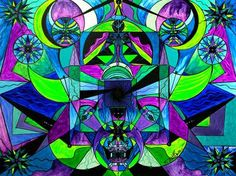 Arcturian Astral Travel Grid - Frequency Paintings - Teal Swan
