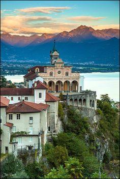 Sanktuarium Madonna del Sasso, Locarno, Switzerland | Jan Geerk on 500px