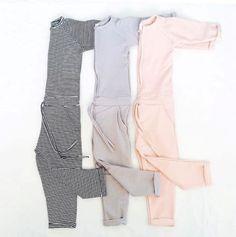 Mingo jumpsuit light grey | Rewind ecodesign
