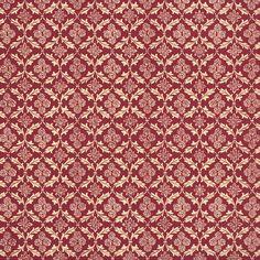 Burgundy Rose and Leaf Print Italian Paper ~ Carta Varese Italy