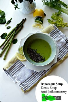 how to make best healthy asparagus soup recipe great as a detox soup from spinach tiger