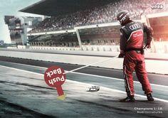 Audi: Audi Miniature Champions - Push Back