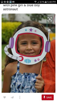 Space Rocket party pdf printable outer space photo booth props - astronaut helmet, spaceship, alien eyes with pink girl astronaut - Astronaut space party - Photos Booth, Photo Booth Props, Fete Marie, Astronaut Helmet, Astronaut Craft, Outer Space Party, Outer Space Crafts, Outer Space Theme, Space Rocket