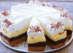 Blíži sa deň, kedy má niekto vo vašej blízkosti narodeniny alebo iný sviatok? Ak ho chcete prekvapiť nejakou sladkou dobrotou, vyskúšajte mu upiecť tortu, ktorá ho určite poteší. No Bake Cookies, No Bake Cake, Tea Cakes, Food Cakes, Sweet Recipes, Cake Recipes, Cheesecake Ice Cream, Kolaci I Torte, Czech Recipes