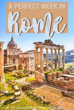 Do you have a full week in Rome? With this amount of time you will be able to explore all the top tourist attractions; discover some hidden gems; and even enjoy a couple of day trips. Read this post for a great itinerary to explore Rome in a week, and to get great tips to organize your time in the city, with ideas on where to stay in Rome, how to move around town and save time and money | Rome Italy | things to do in Rome #rome #italy #traveltips via @clautavani