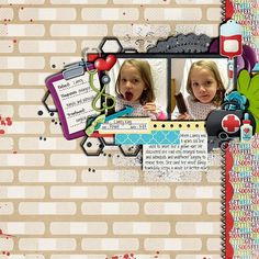 Layout using {Boo Boos & Ouchies} Digital Scrapbook Kit by Digilicious Design available at Sweet Shoppe Designs http://www.sweetshoppedesigns.com/sweetshoppe/product.php?productid=30493&cat=743&page=1 #digiscrap #digitalscrapbooking #digiliciousdesign #booboos&ouchies