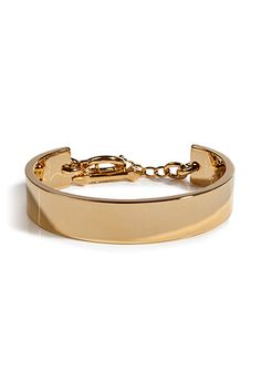 Eddie Borgo Gold Plated Zenith Bracelet