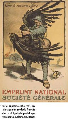 Emprunt National Societe Generale poster by Falter H. Subjects : Political,Loan,World War. Lithography from ca Parisposters only offers original vintage posters. Ww1 Posters, Political Posters, Wilhelm Ii, Kaiser Wilhelm, Propaganda Ww2, Museums In Nyc, World War One, Vintage Posters, Tumblr