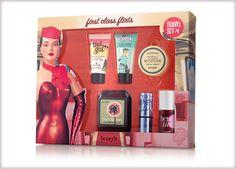 Benefit Cosmetics - first class flirts - set of 6 travel friendly bestsellers #benefitcosmetics #benevoyage